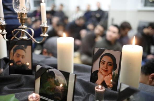 عزاداری ایرانیان برای کشته های کانادا