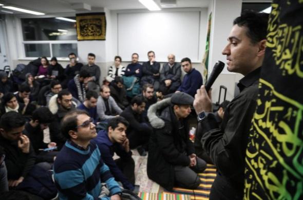 عزاداری ایرانیان کانادا برای کشته های هواپیما