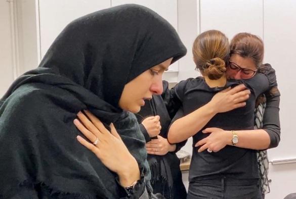 عزاداری ایرانیان کانادا برای هواپیما