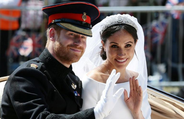 مگان و هری عروسی