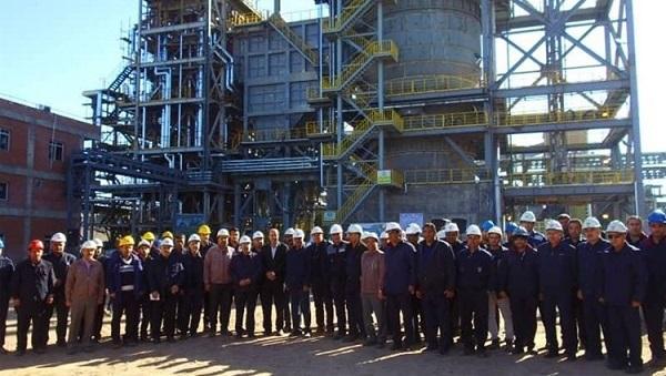بهرهبرداری از پروژه خنکسازی کک متالورژی به روش خشک توسط شرکت میدکو