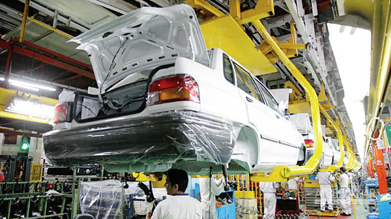 رکورد تولید خودرو در