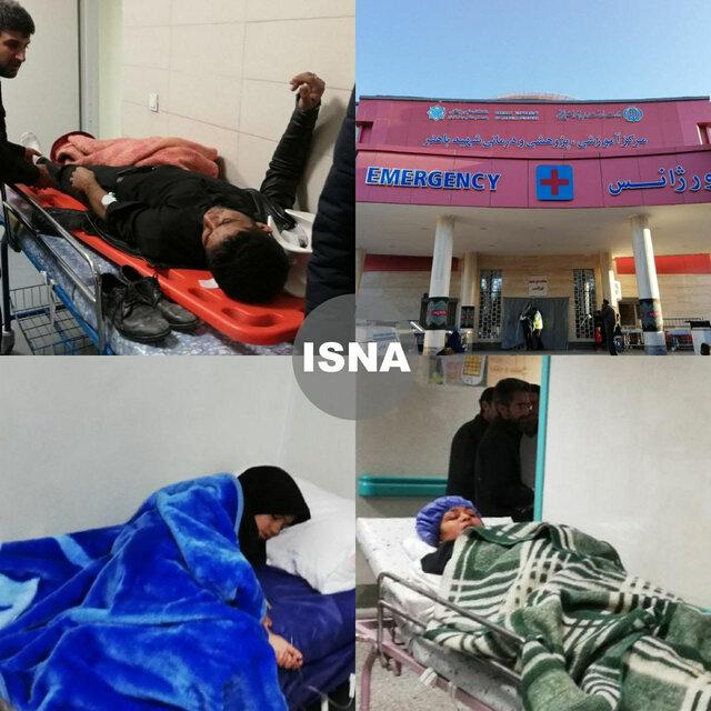 اورژانس کرمان: ۱۰ نفر از مصدومین حادثه تشییع پیکر شهید سلیمانی، بستری هستند