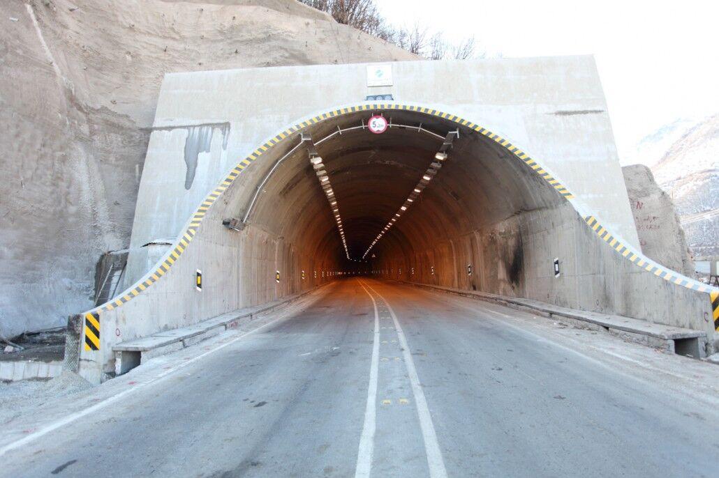 جاده هراز یکشنبه شب و دوشنبه شب این هفته بسته میشود