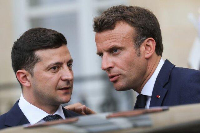 گفتوگوی روسای جمهور اوکراین و فرانسه درباره هواپیمای اوکراینی