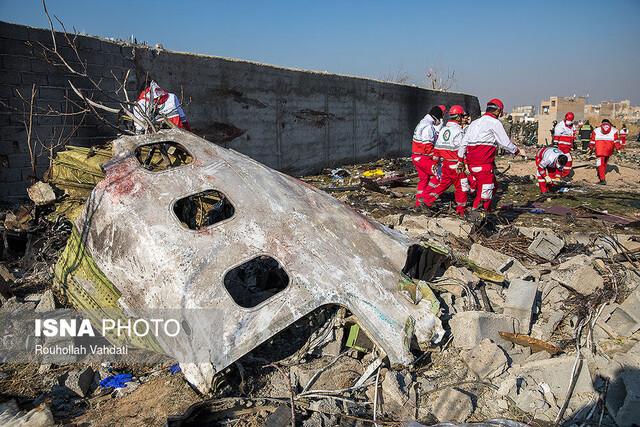 خسارت هواپیمای اوکراینی