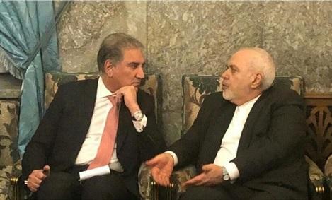 دیدار ظریف با وزیر امور خارجه پاکستان