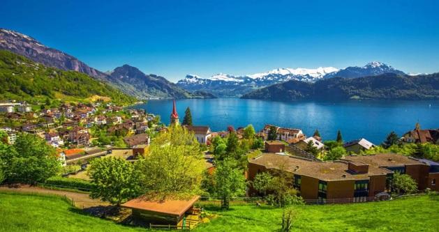 نمایی جذاب از کشور سوئیس