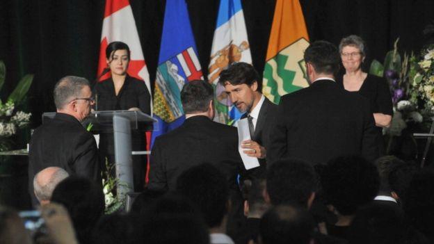 یادبود کشته های هواپیمای اوکران در کانادا