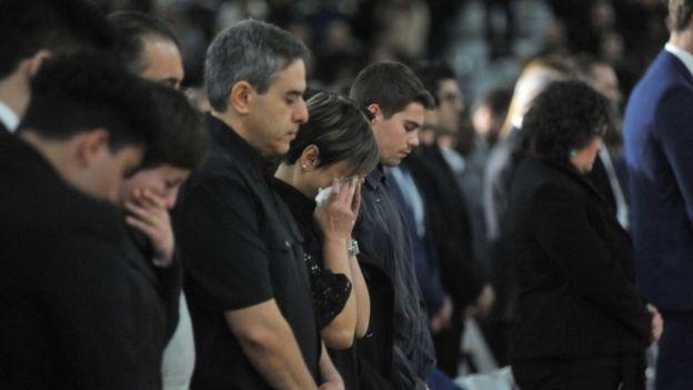 مراسم ایرانیان مقیم کانادا در تکریم کشته شدگان هواپیما