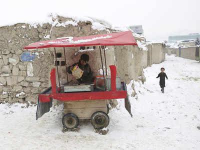 سرما در افغانستان 17 قربانی گرفت