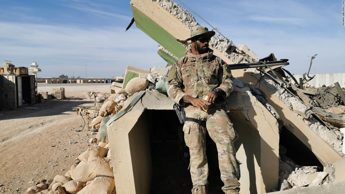 حمله موشکی سپاه به پایگاه آمریکا
