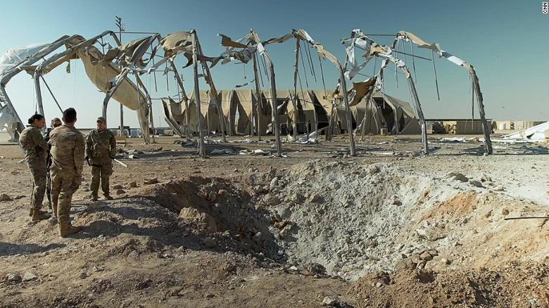 روایت سربازان آمریکایی از حمله موشکی سپاه (+عکس)