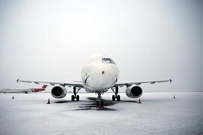 یخبندان پرواز ایلام - تهران را لغو کرد