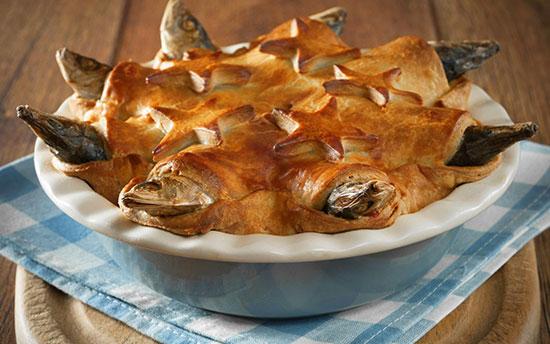 پای استارگیزی (Stargazey Pie)، انگلیس
