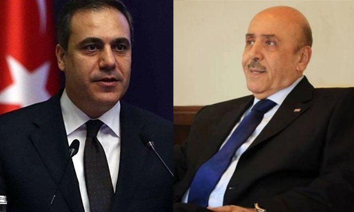 دیدار مقامات امنیتی سوریه و ترکیه در مسکو