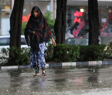 رگبار باران در جنوب کشور