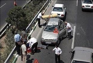 یک مرگ در هر ٢٨ دقیقه به علت حوادث ترافیکی
