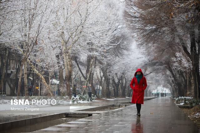 اطلاعیه هواشناسی درباره بارش برف و باران در نقاط مختلف کشور