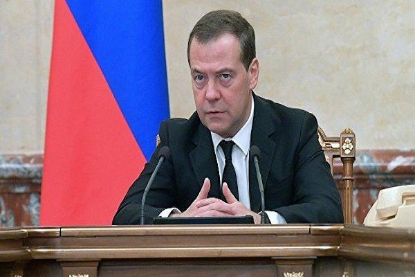 دولت روسیه استعفا کرد