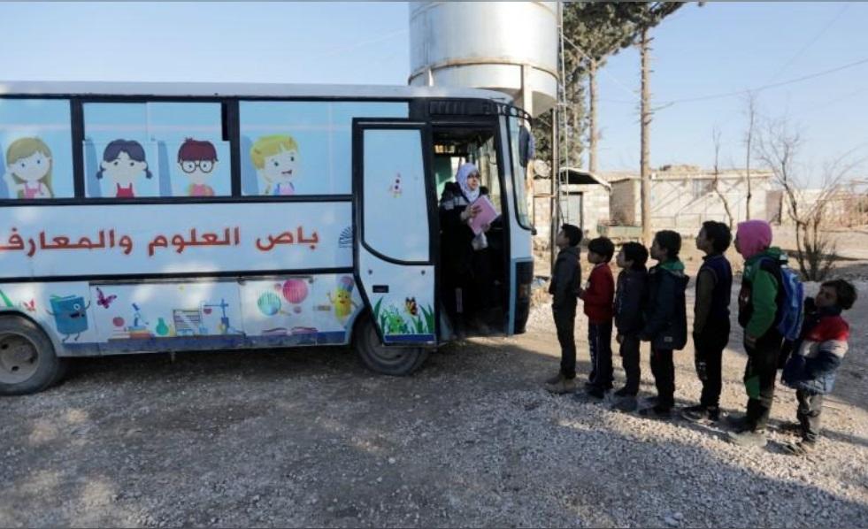 مدرسه اتوبوسی سوریه