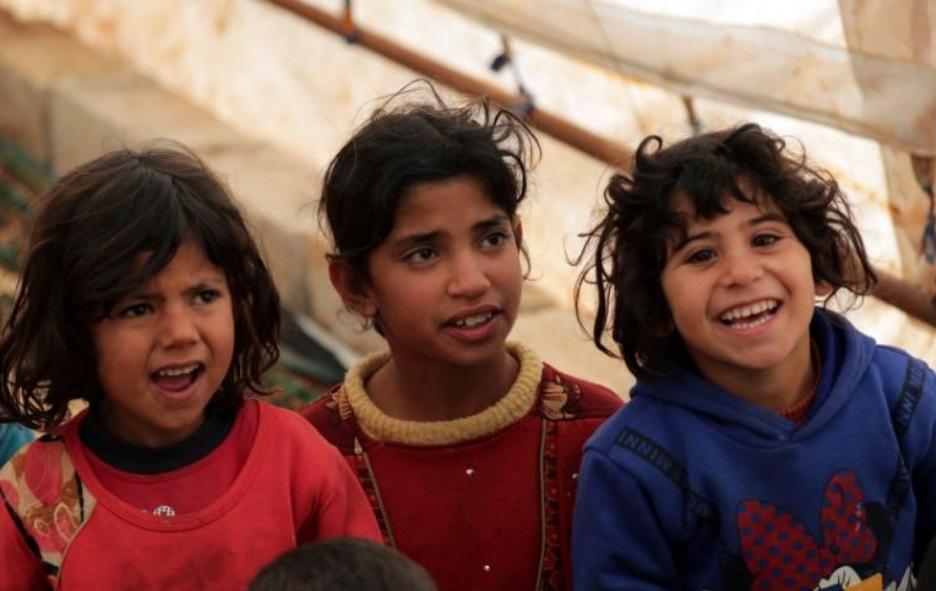 کودکان سوریه در اردوگاه