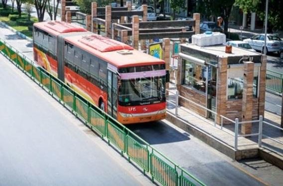 تجهیز ۶۰۰۰ اتوبوس تهران به زنجیر چرخ و ضد یخ