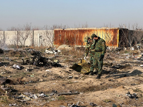 تحویل ۱۵۰ پیکر به خانواده قربانیان سقوط هواپیمای اوکراین