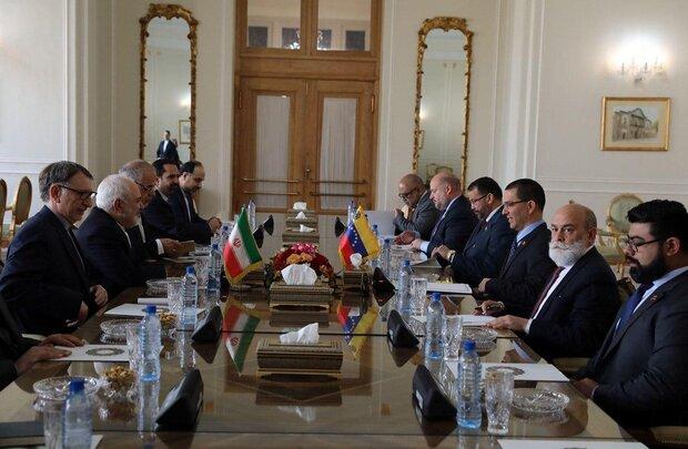 دیدار وزیرامورخارجه ونزوئلا با ظریف