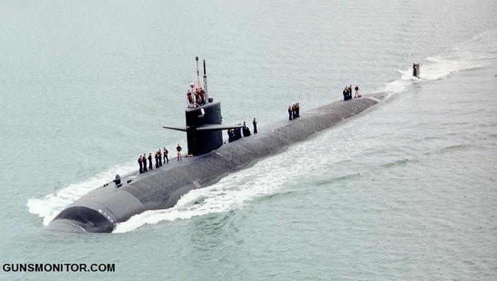 تجربه ای که زیردریایی اتمی آمریکا را نجات داد! (+تصاویر)