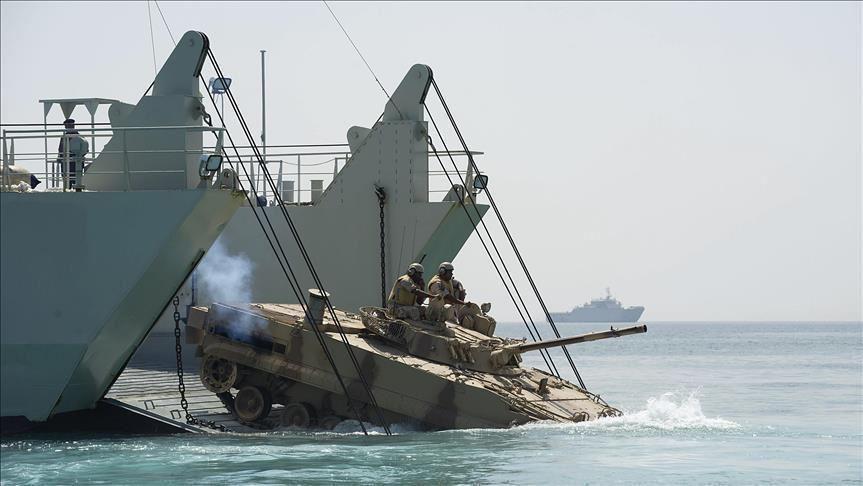 رزمایش دریایی ایران، چین و روسیه