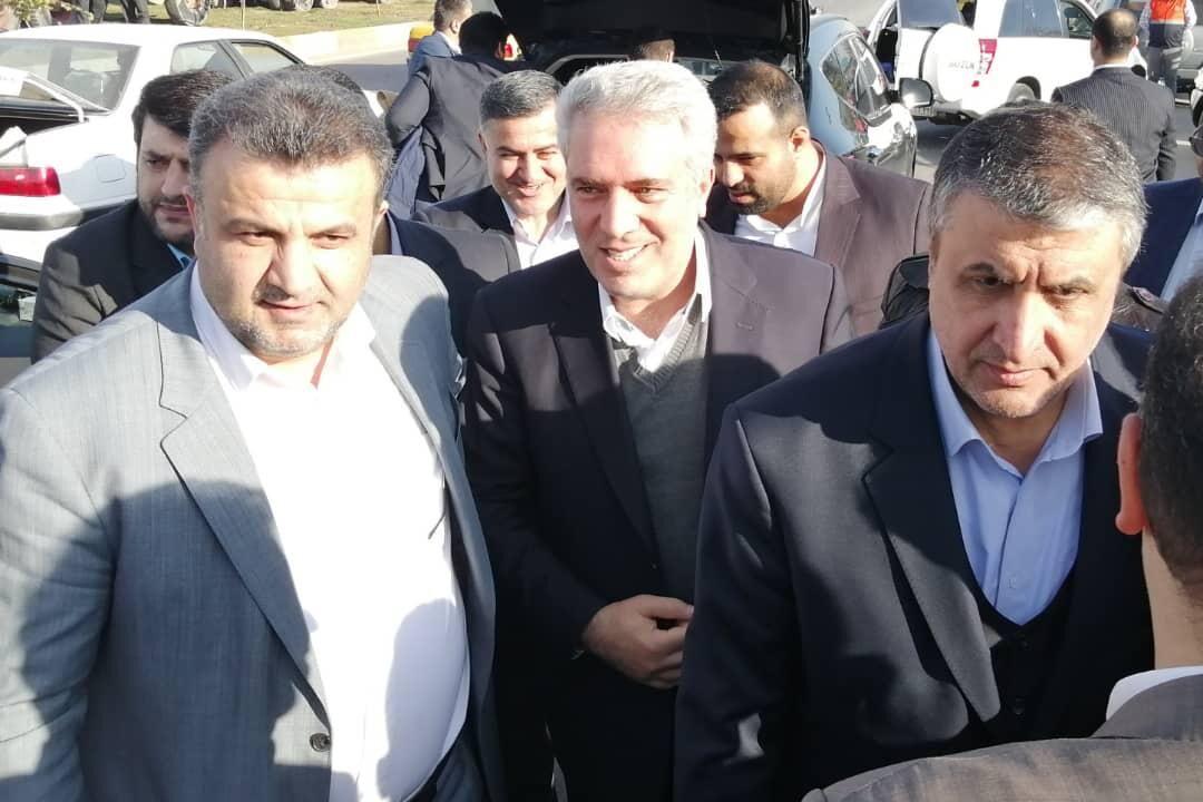 بازدید 3 وزیر هیات دولت از کاخ صفیآباد بهشهر مازندران