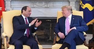 حمایت رییس جمهور مصر از نیروهای حفتر در تماس تلفنی با ترامپ