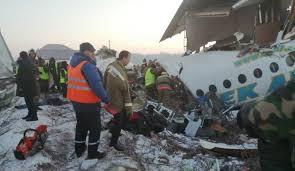 ایران سقوط هواپیما در قزاقستان را تسلیت گفت