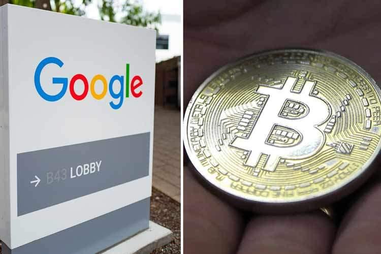 بیتکوین و گوگل