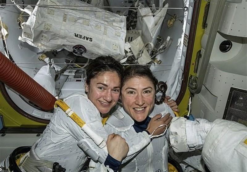 رکورد اقامت زنان در فضا به 288 روز رسید (+عکس)