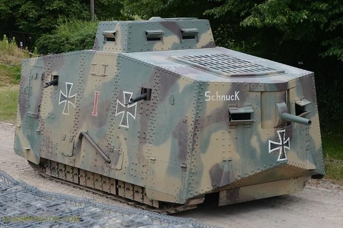 تنها تانک آلمانی جنگ جهانی اول! (+تصاویر)