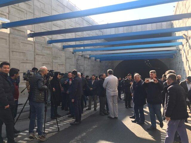 افتتاح زیرگذر استاد معین تهران پس از 3 سال وقفه