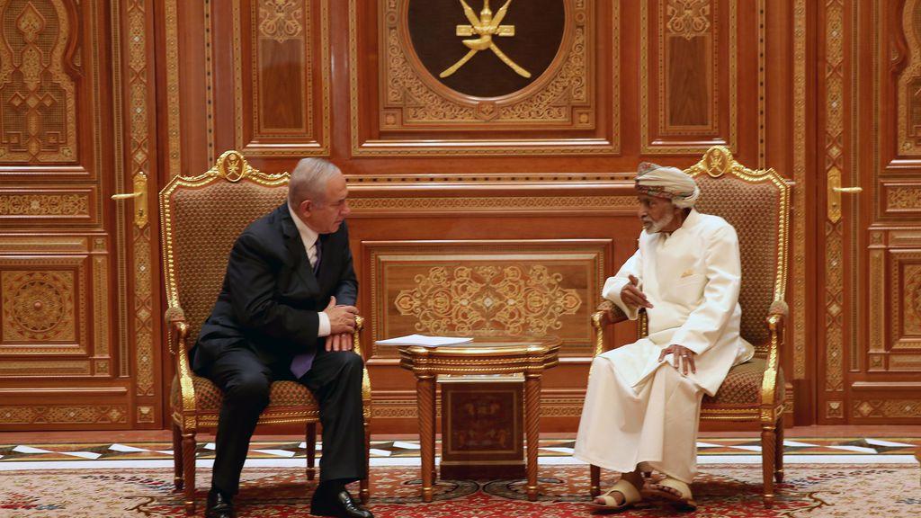 نتانیاهو اسراییل سلطان قابوس برجام