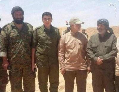 شهادت اصغر پاشاپور فرمانده ارشد نیروی «قدس» سپاه پاسداران در حلب سوریه (+عکس)