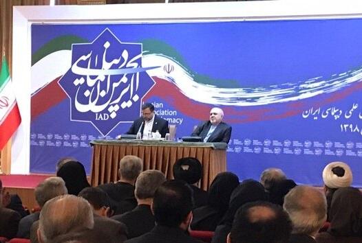 ظریف: چرا قبول نداریم استقامت و دیپلماسی میتواند قدرت بیاورد؟