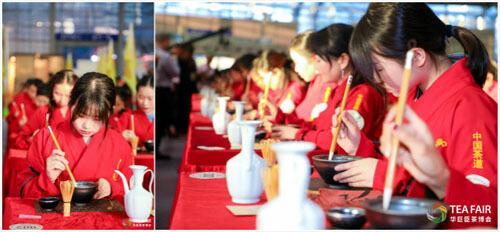 مراسم نوشیدن چای در چین
