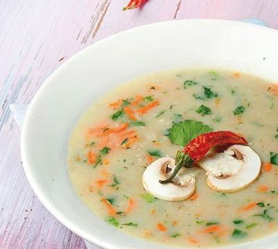 سوپ سفید مجلسی