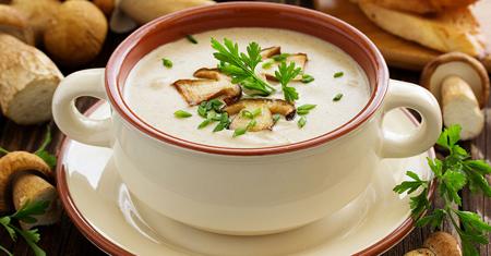 طرز تهیه سوپ سفید رستورانی