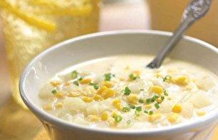 طرز تهیه سوپ سفيد حرفه ای