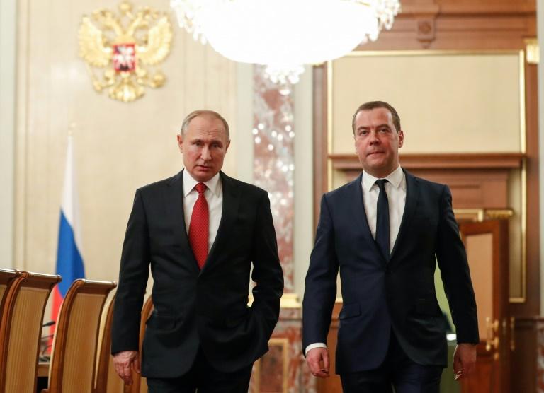 پوتین کابینه جدید