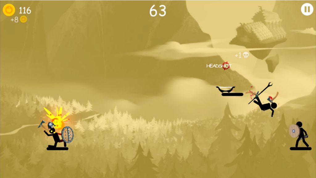 دانلود بازی موبایل آدمک های وایکینگ - The Vikings