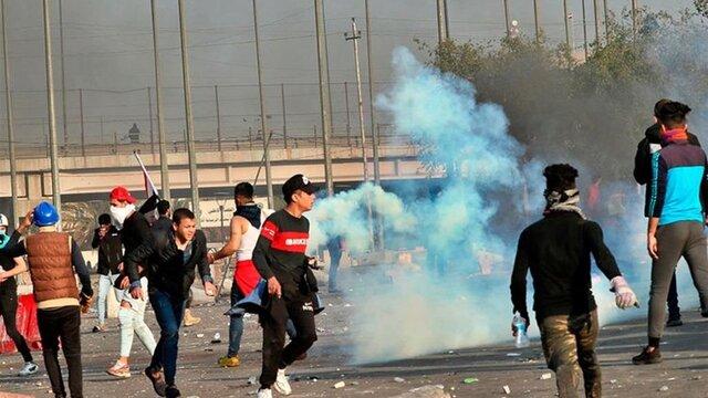 تظاهرکنندگان عراق