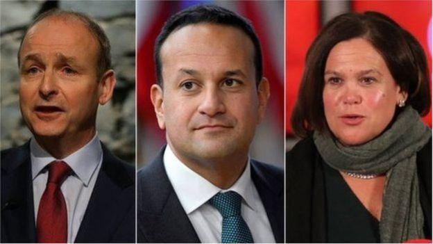 رهبران اصلی احزاب بزرگ ایرلند
