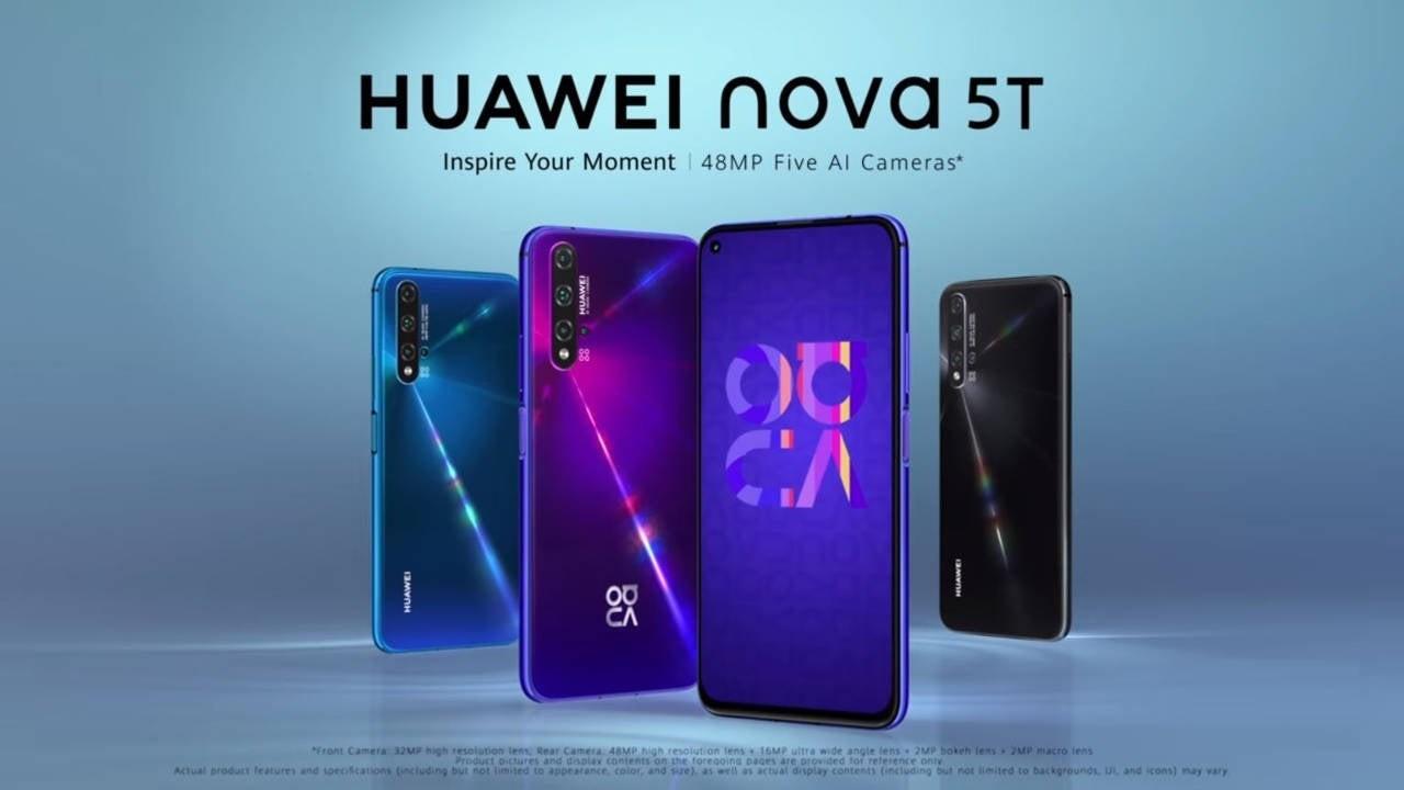 عرضه محصول جدید Huawei nova 5T در بازار ایران